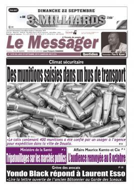 Le Messager - 09/09/2019
