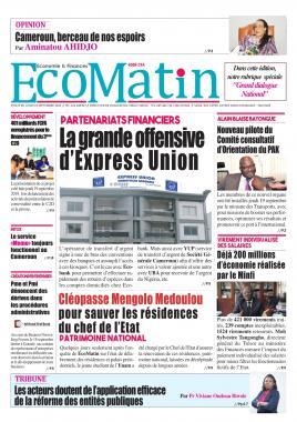 Ecomatin - 23/09/2019
