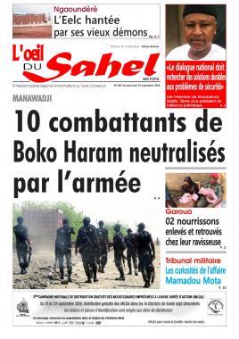 L'oeil du Sahel - 18/09/2019