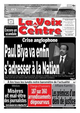 LA VOIX DU CENTRE - 09/09/2019