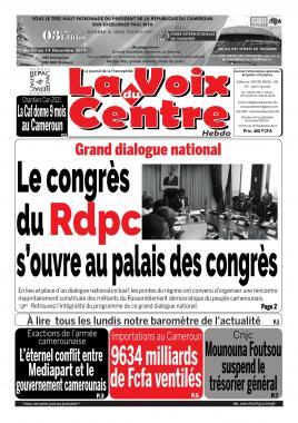 LA VOIX DU CENTRE - 30/09/2019