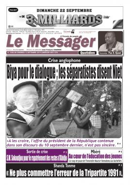 Le Messager - 13/09/2019
