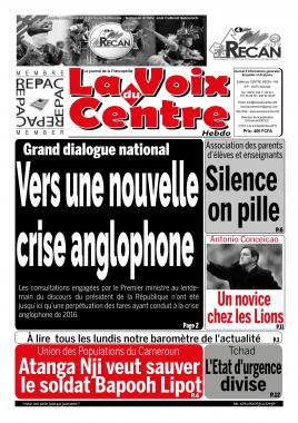 LA VOIX DU CENTRE - 23/09/2019