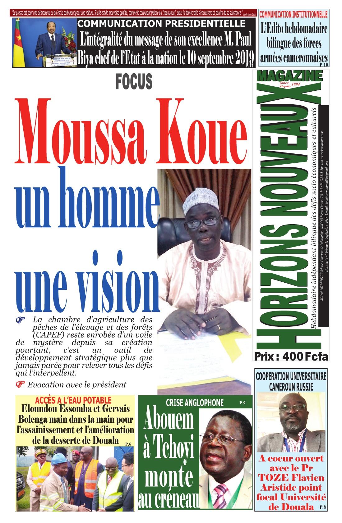 Horizons Nouveaux Magazine - 11/09/2019