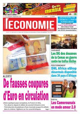 Le Quotidien de l'Economie - 12/09/2019