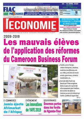 Le Quotidien de l'Economie - 16/09/2019