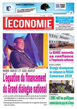 Le Quotidien de l'Economie - 13/09/2019
