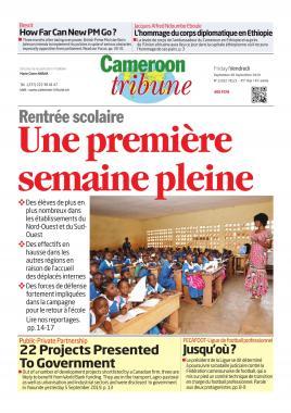 Cameroon Tribune - 06/09/2019