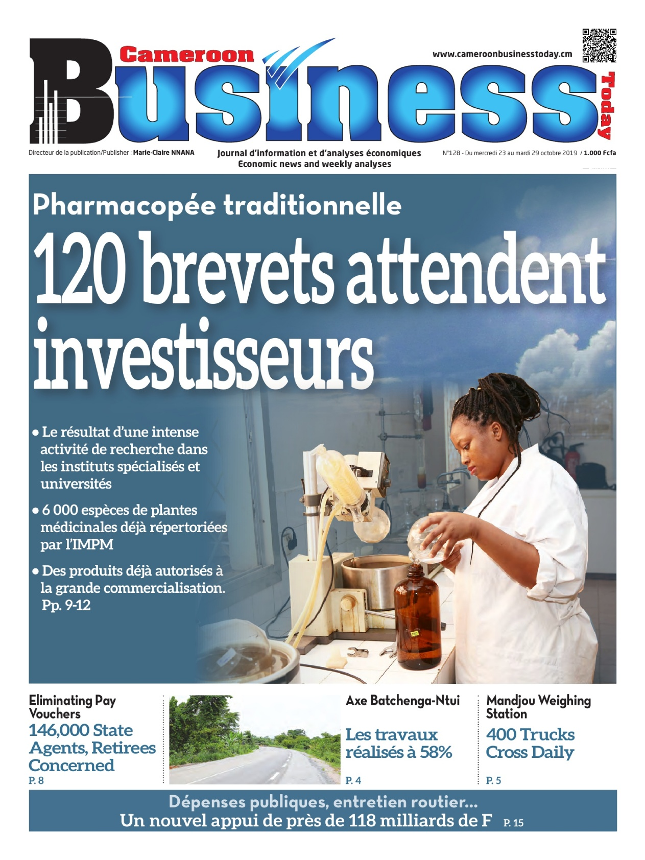 Cameroon Business - 23/10/2019