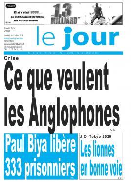Le Jour - 04/10/2019