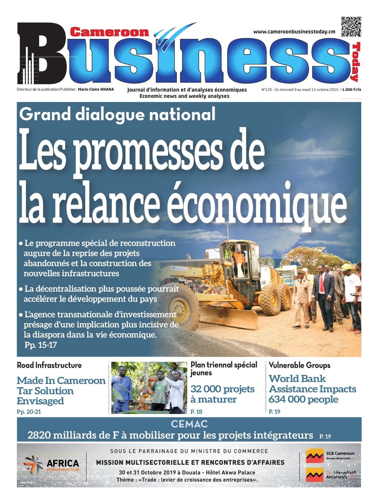 Cameroon Business - 09/10/2019