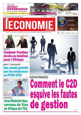 Le Quotidien de l'Economie - 23/10/2019