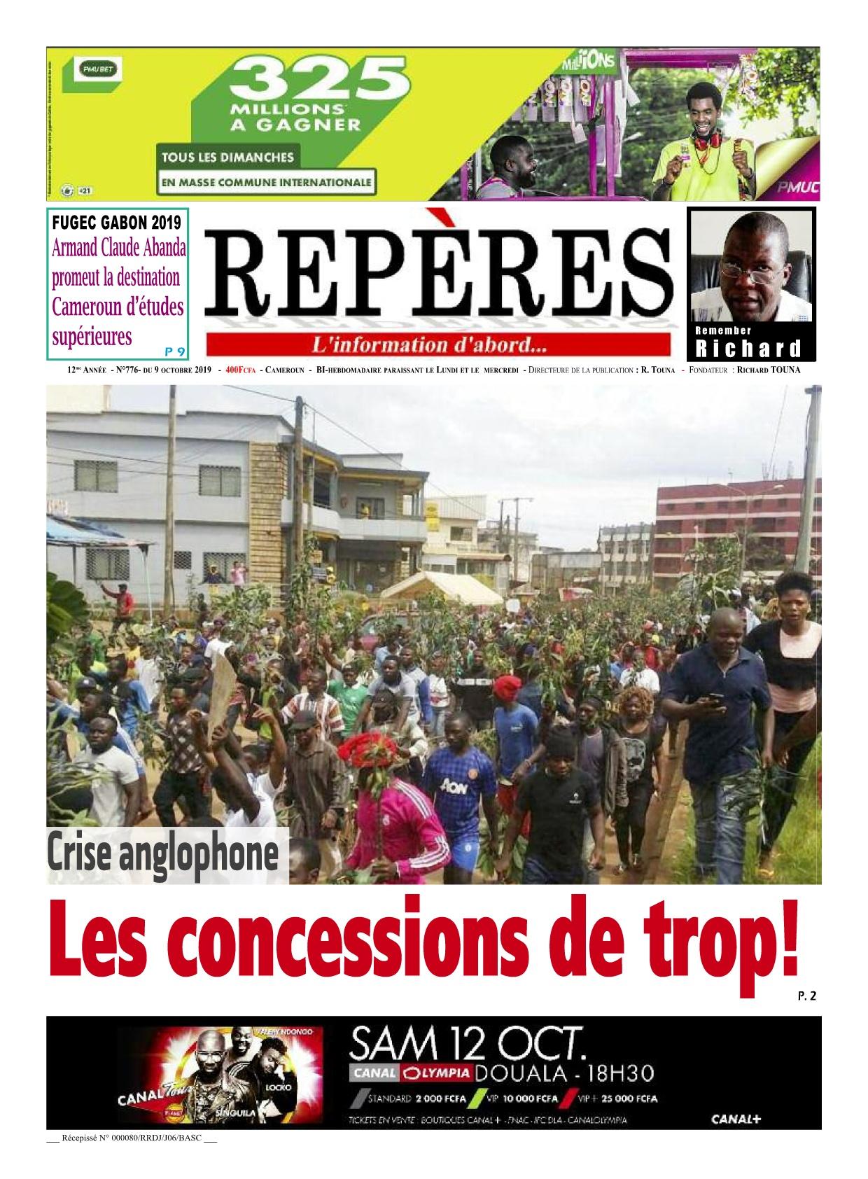 Repères - 09/10/2019