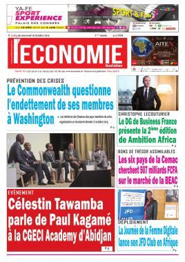 Le Quotidien de l'Economie - 16/10/2019