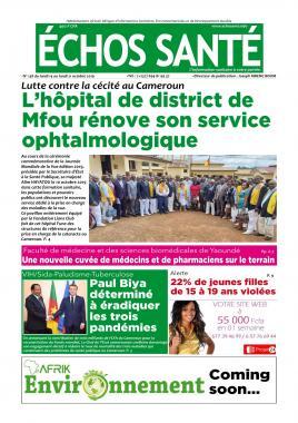 Echos Santé - 15/10/2019