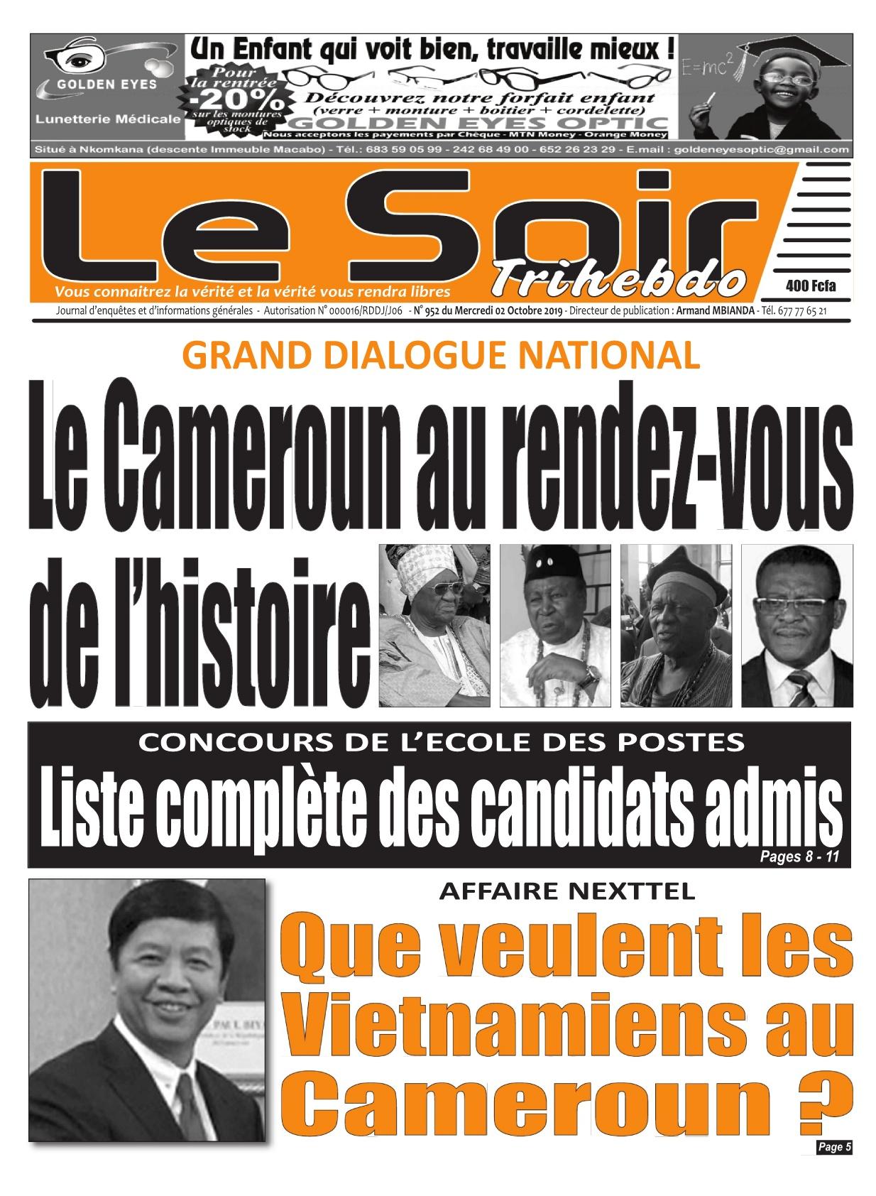 Le Soir - 02/10/2019