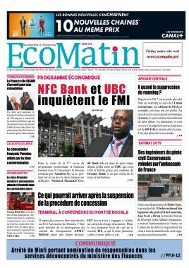 Ecomatin - 30/10/2019