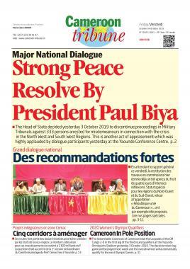 Cameroon Tribune - 04/10/2019