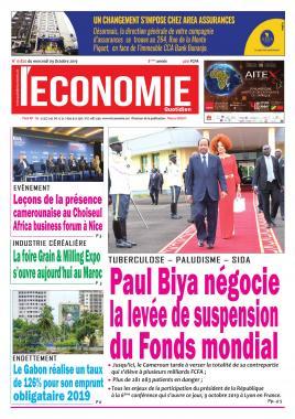 Le Quotidien de l'Economie - 09/10/2019