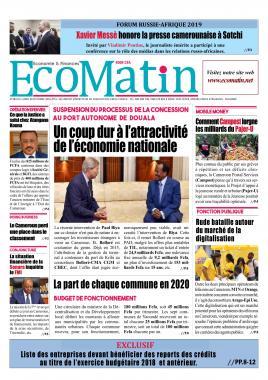 Ecomatin - 28/10/2019