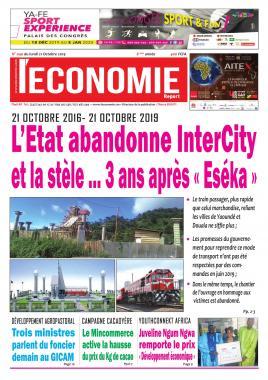 Le Quotidien de l'Economie - 21/10/2019