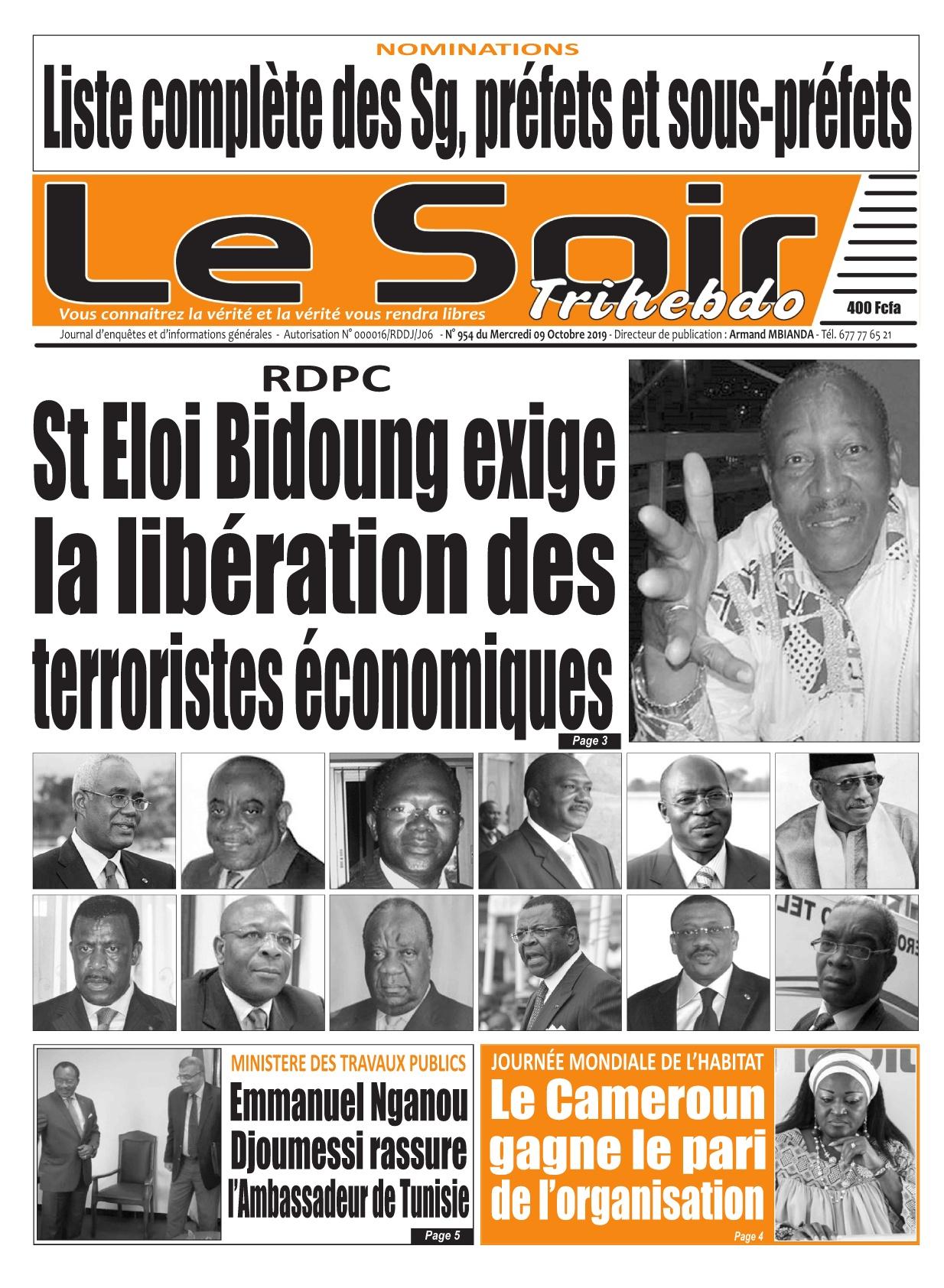 Le Soir - 09/10/2019