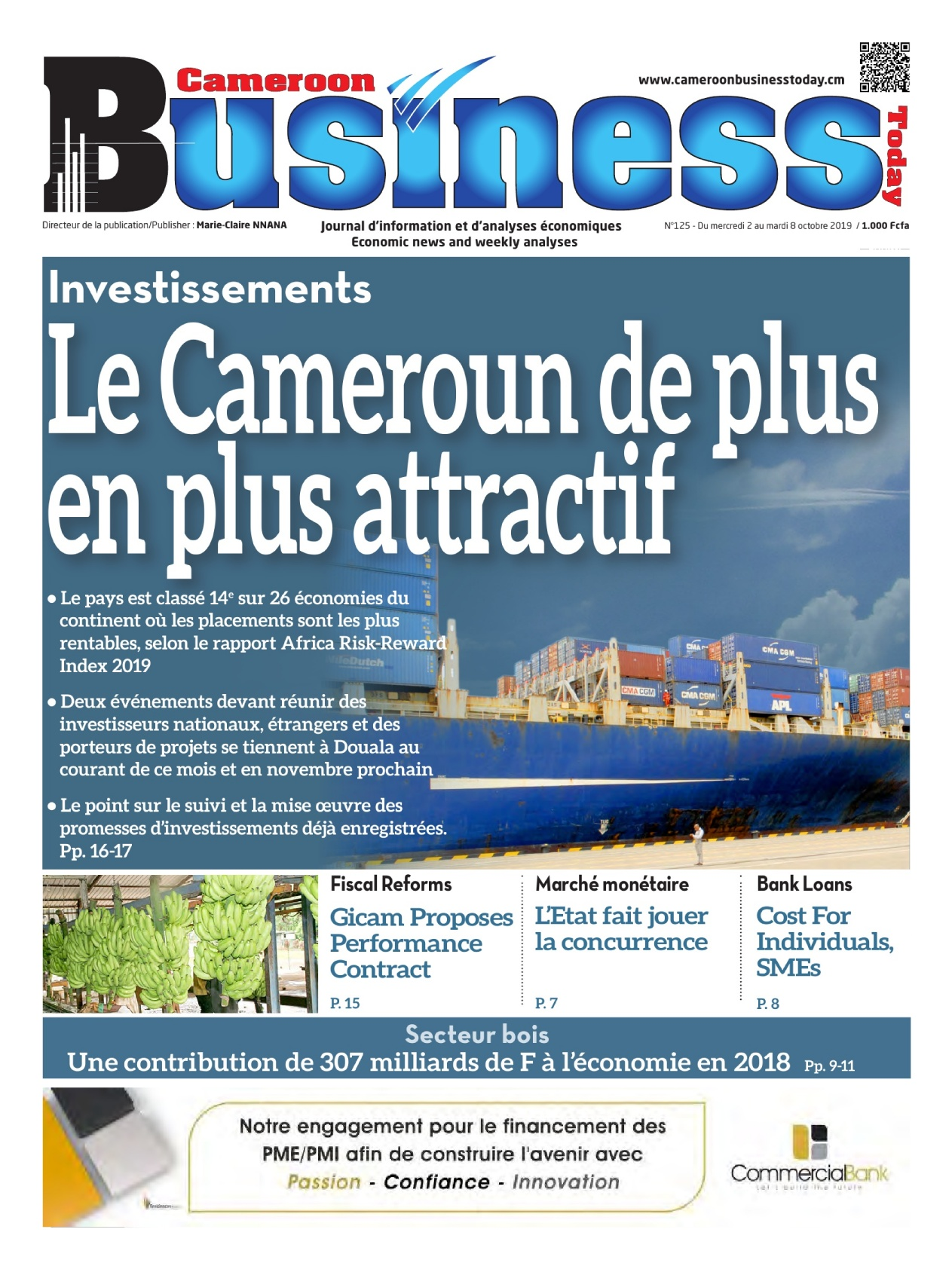 Cameroon Business - 02/10/2019