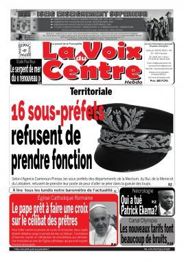 LA VOIX DU CENTRE - 28/10/2019