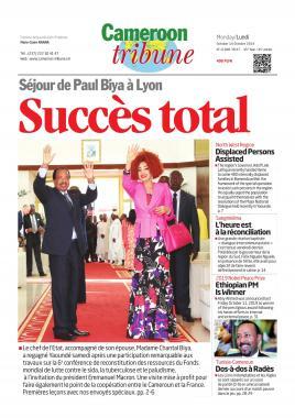 Cameroon Tribune - 14/10/2019