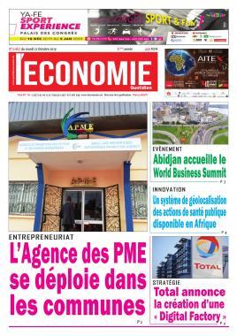 Le Quotidien de l'Economie - 22/10/2019