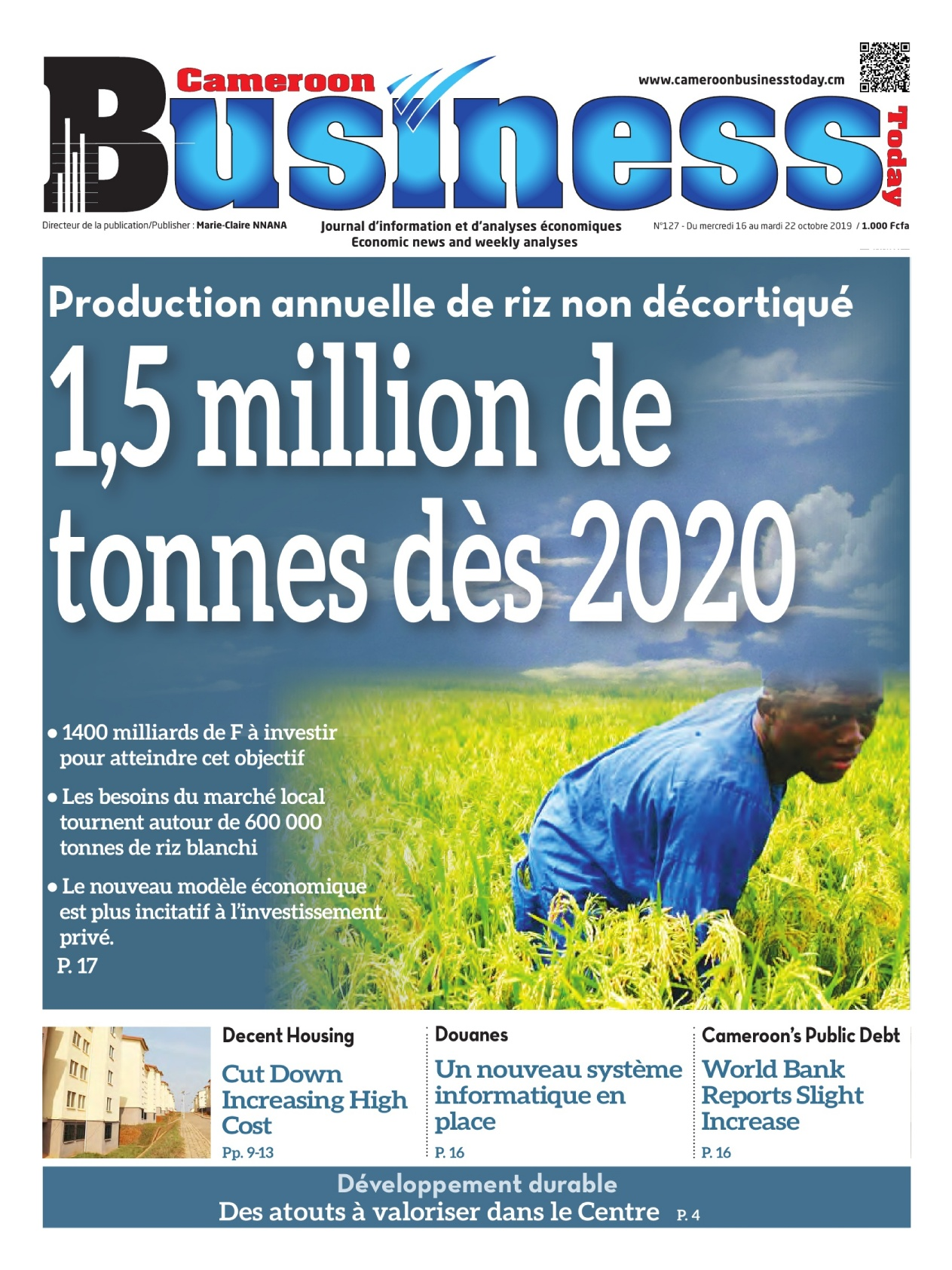 Cameroon Business - 16/10/2019