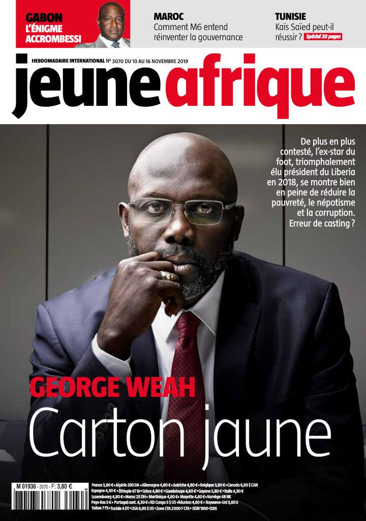 JEUNE AFRIQUE -11/11/2019