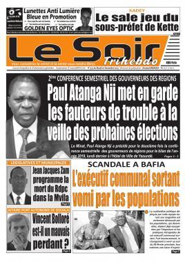 Le Soir - 26/11/2019