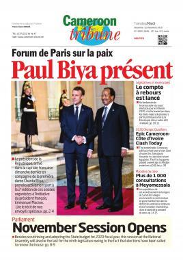 Cameroon Tribune - 12/11/2019