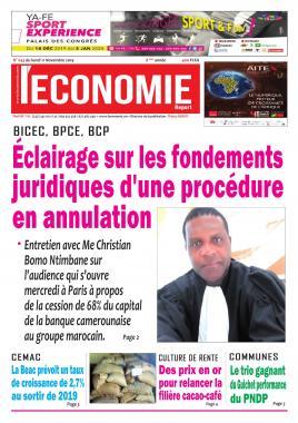 Le Quotidien de l'Economie - 11/11/2019