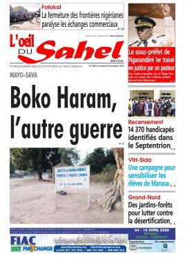 L'oeil du Sahel - 29/11/2019