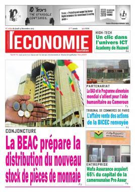 Le Quotidien de l'Economie - 14/11/2019