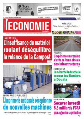 Le Quotidien de l'Economie - 15/11/2019