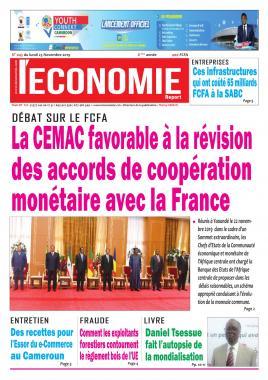 Le Quotidien de l'Economie - 25/11/2019