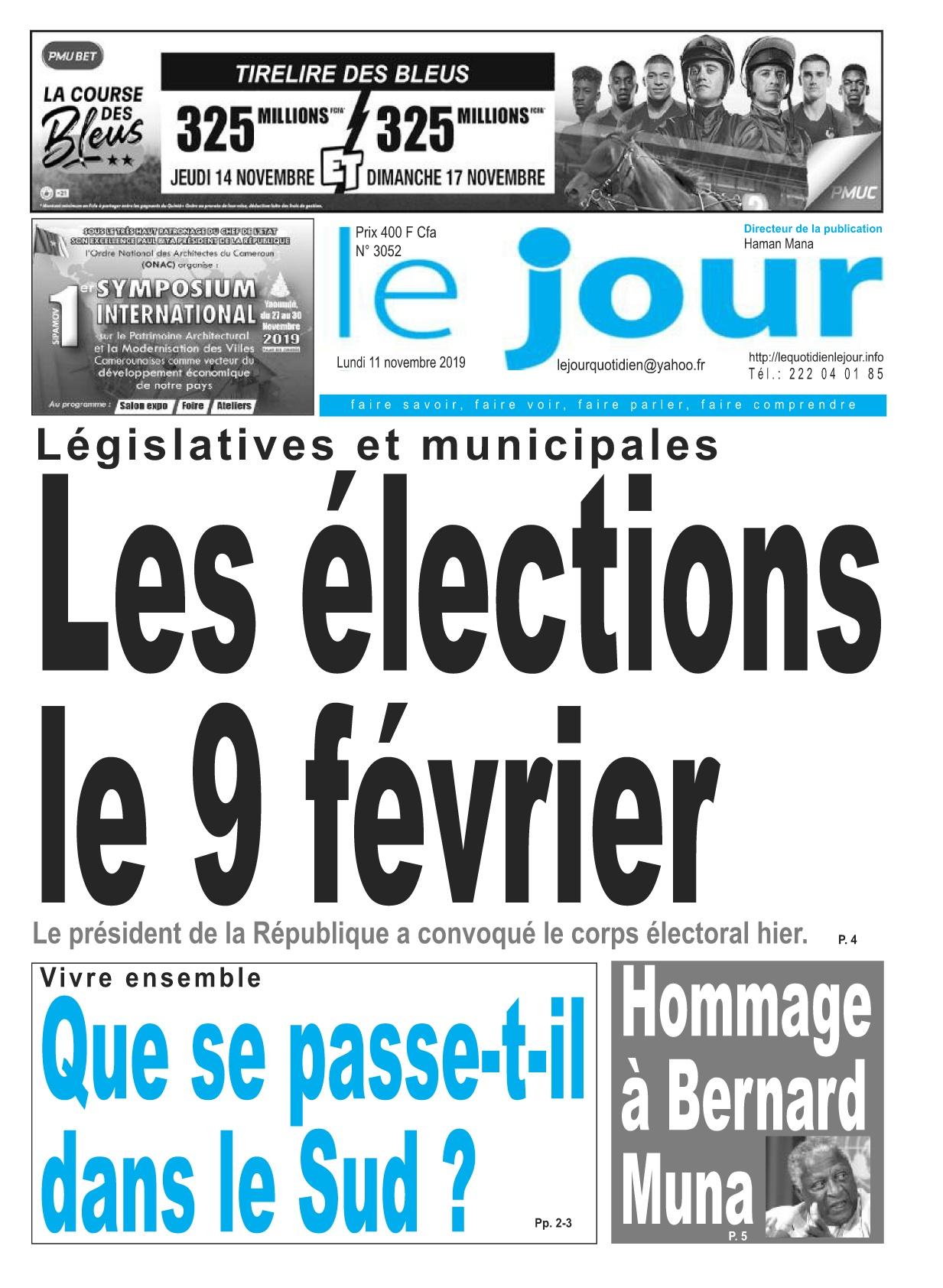 Le Jour - 11/11/2019