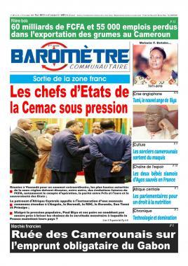 Baromètre - 22/11/2019