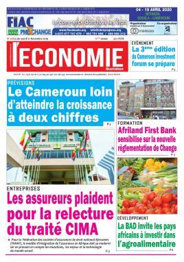 Le Quotidien de l'Economie - 12/11/2019