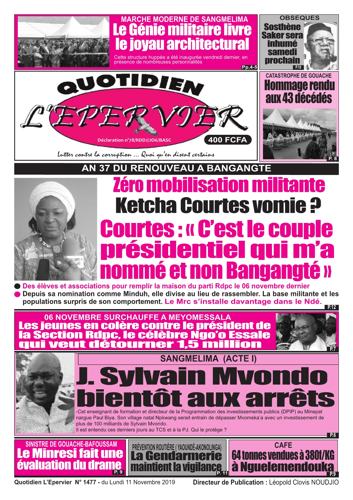 L'Epervier - 11/11/2019