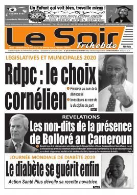 Le Soir - 15/11/2019