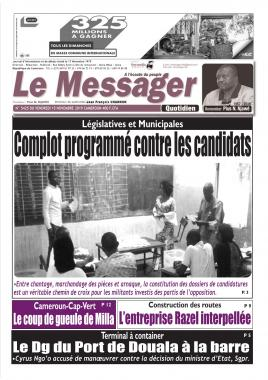 Le Messager - 15/11/2019