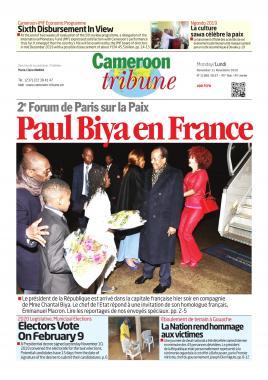 Cameroon Tribune - 11/11/2019