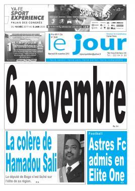 Le Jour - 06/11/2019