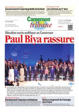 Cameroon Tribune - 13/11/2019