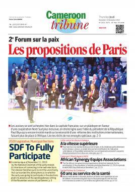 Cameroon Tribune - 14/11/2019