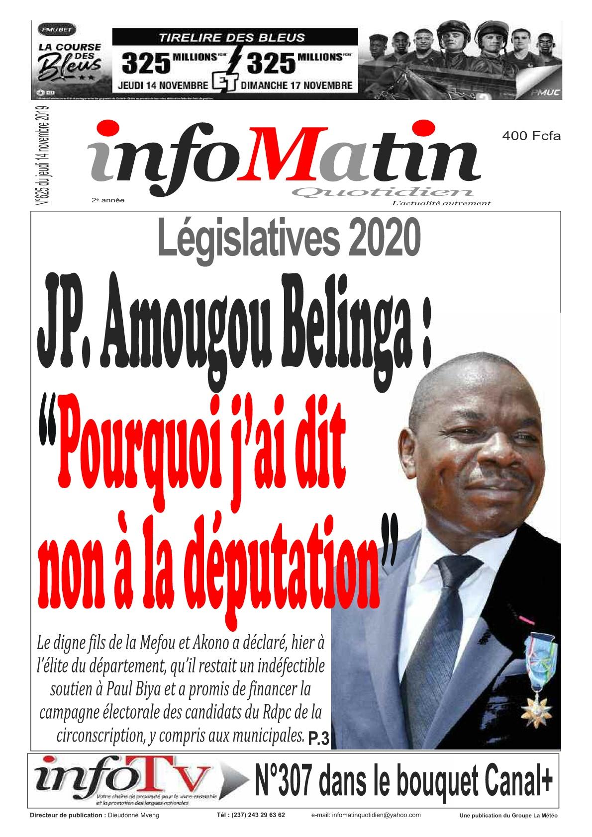 Infomatin - 14/11/2019